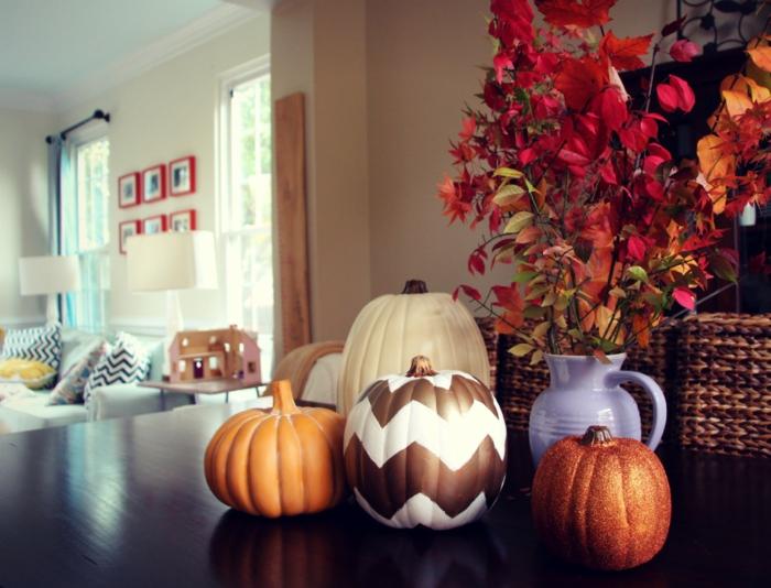 k rbis deko einfache diy ideen bringen gro en effekt. Black Bedroom Furniture Sets. Home Design Ideas