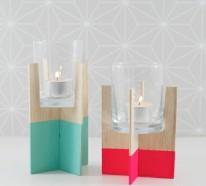 Stilvolle Ideen für Kerzenständer, die zum Hingucker werden