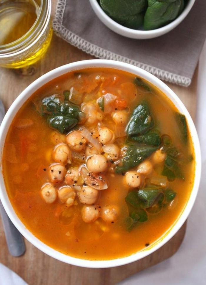 kichererbsen suppe zutaten einfache kochrezepte 4 personen