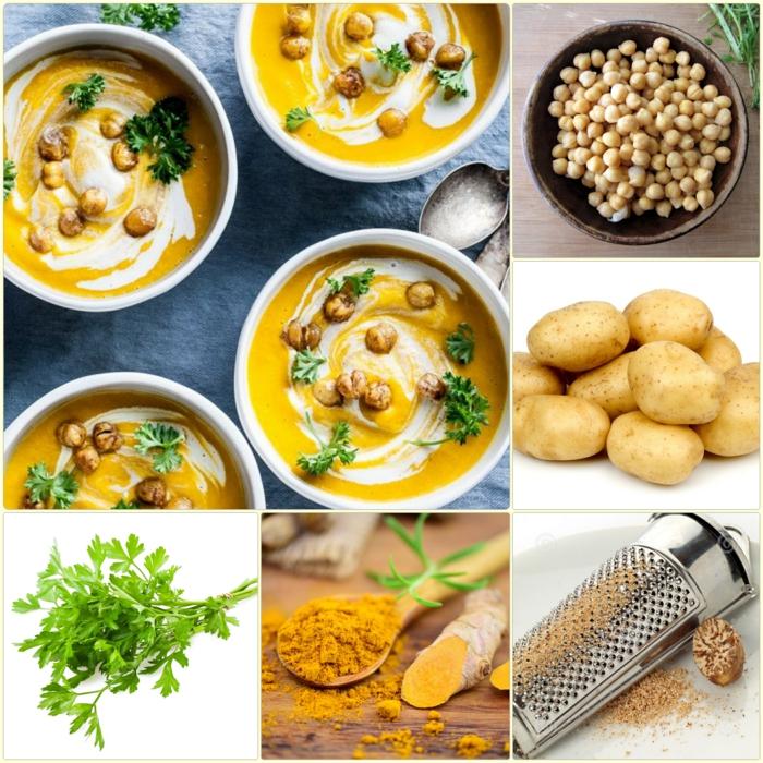 kichererbsen suppe zutaten einfache kochrezepte ideen