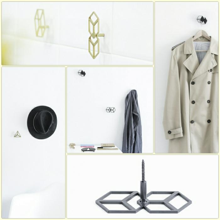 kleiderhaken vom designer octavio asensio garderobenhaken design