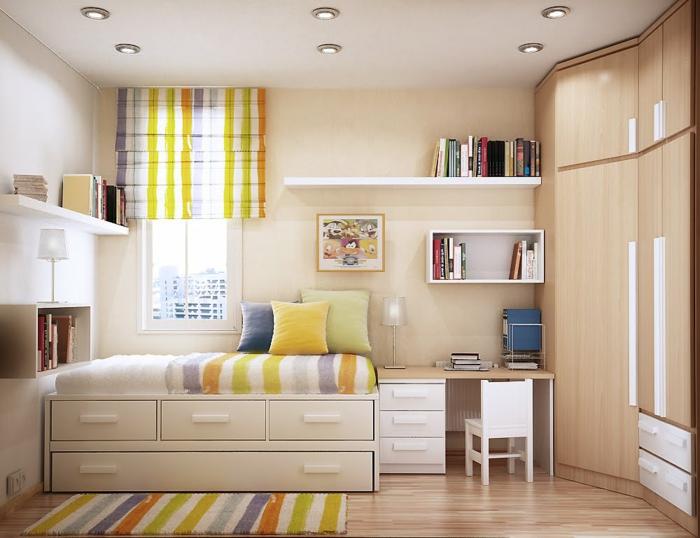 kleine zimmer einrichten frische ideen f r kleine r ume. Black Bedroom Furniture Sets. Home Design Ideas