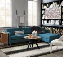 Hochwertig Facebook Twitter Google+ Pinterest · Kleine Zimmer Einrichten Helle Sofas  Wohnwand Beistelltisch Kleine Zimmer Einrichten U2013 Frische Ideen Für Kleine  Räume ...