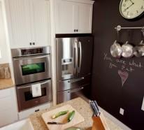 Wandtafel in Küche – Warum gestalten Sie Ihre Küchenwände nicht mal so?