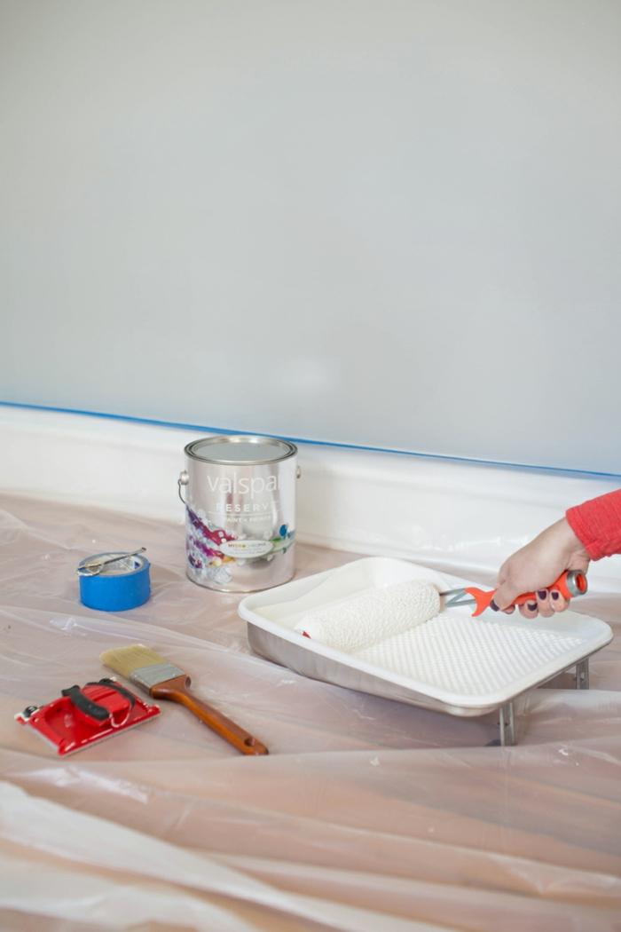 Küchenrückwand Streichen latexfarbe wissenswertes vorteile und nachteile