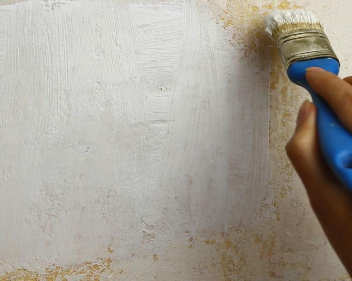 latexfarbe decke entfernen latexfarbe in bad und k che alternative zu fliesen bauen malerfrage. Black Bedroom Furniture Sets. Home Design Ideas