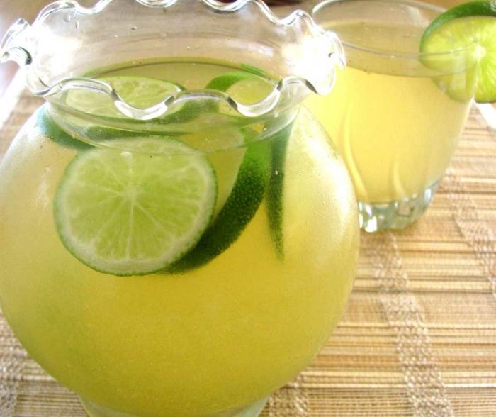 limonade selber machen frische limette