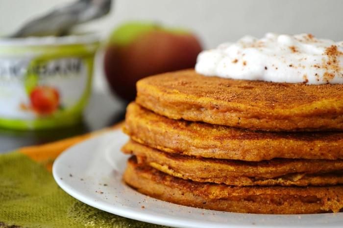 low carb rezepte kürbis pfannkuchen