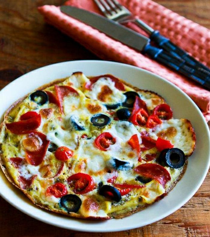 low carb rezepte pizza frühstück