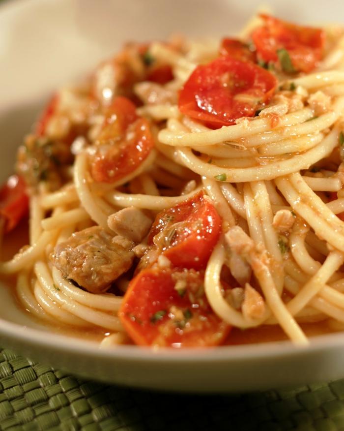 low carb rezepte spathetti tomaten  hähnchen