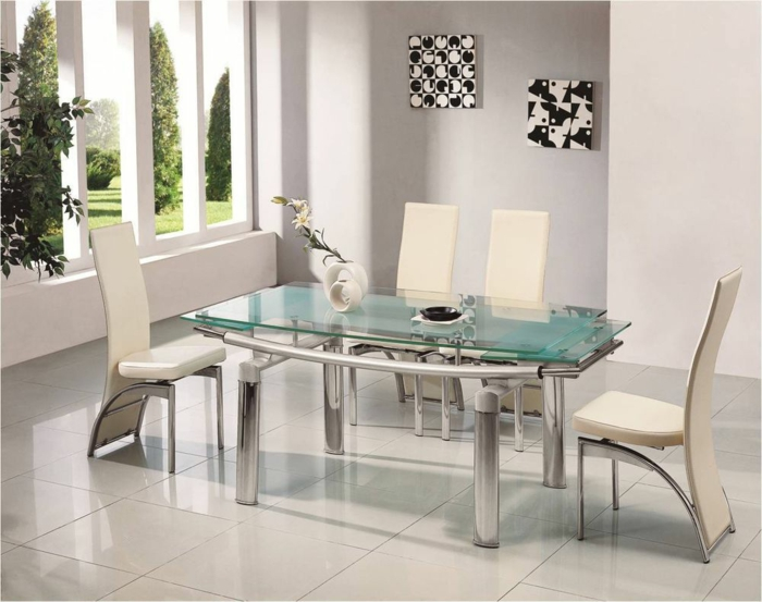 Contemporary Kitchen Tables Round