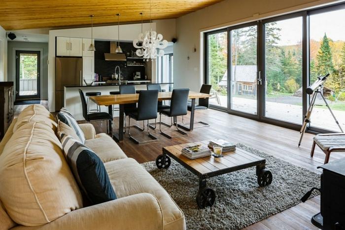 möbel trends wohnzimmer gestalten industrieller look