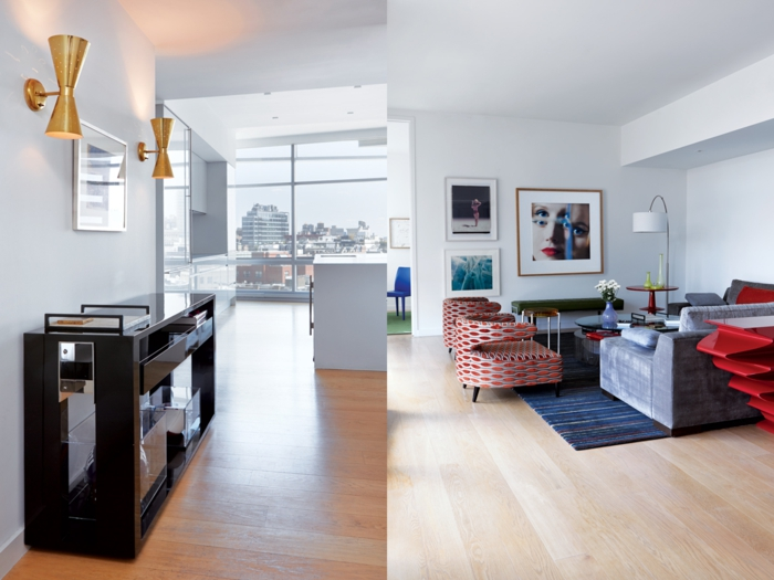 möbeldesigner John Barman kreative wohnzimmer einrichtung innendesign