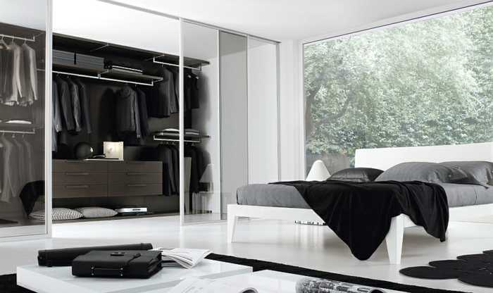 moderne garderoben f r m nner tipps wie man ordnung in diese bringt. Black Bedroom Furniture Sets. Home Design Ideas