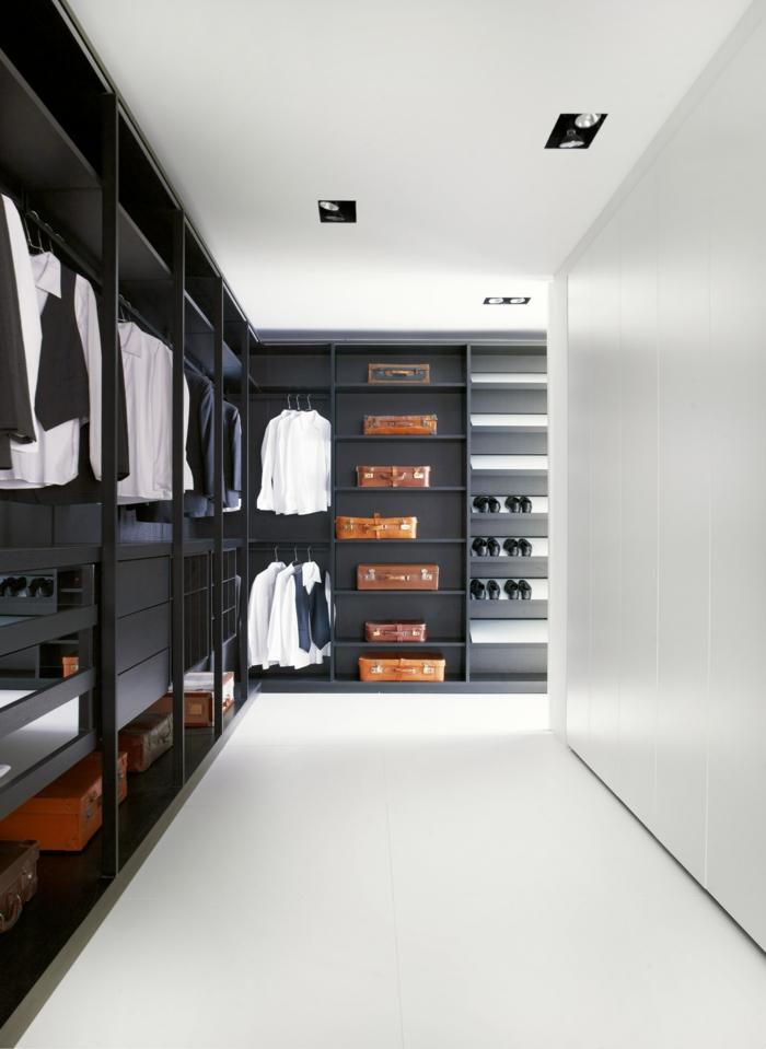moderne garderoben f r m nner tipps wie man ordnung in. Black Bedroom Furniture Sets. Home Design Ideas