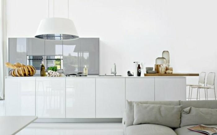moderne modulküchen küchen design pendelleuchte