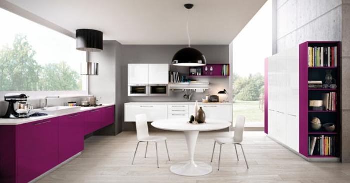 modulküchen singleküchen moderne kücheneinrichtung farbakzente