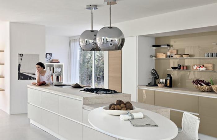 modulküchen singleküchen moderne pendelleuchten wohntrends