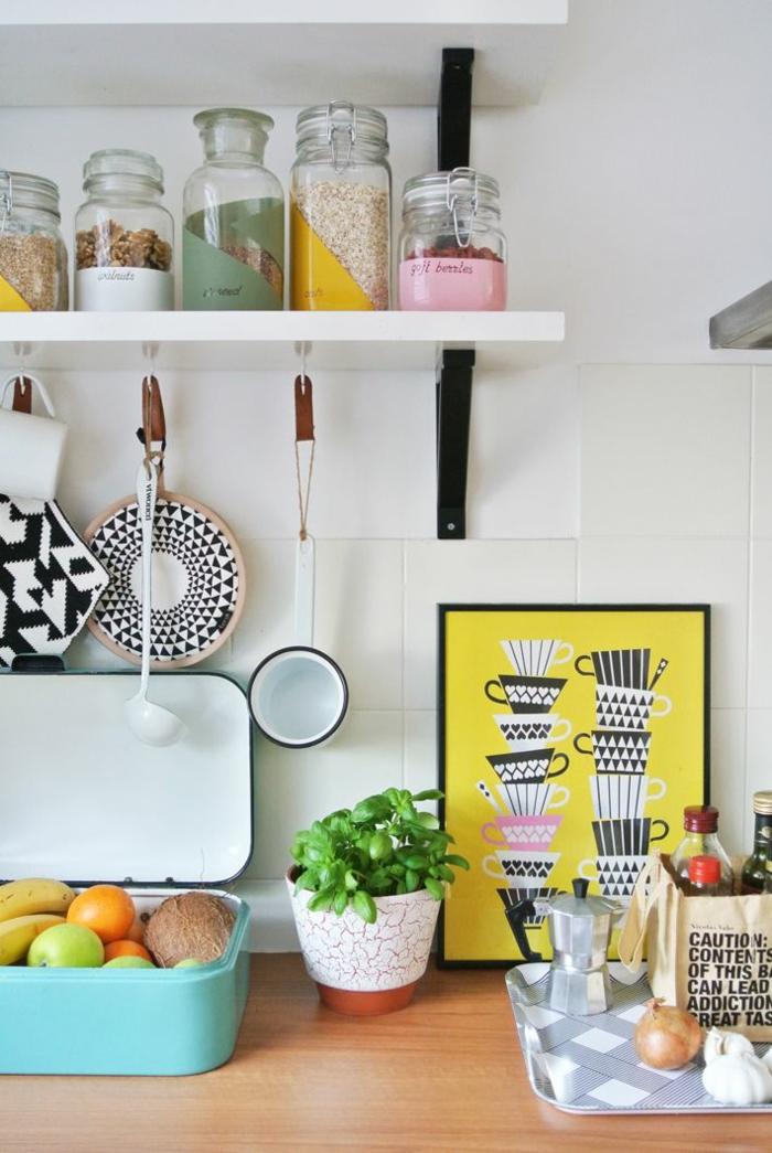 neue wohntrends 2016 kücheneinrichtung ideen farbakzente küchenutensilien