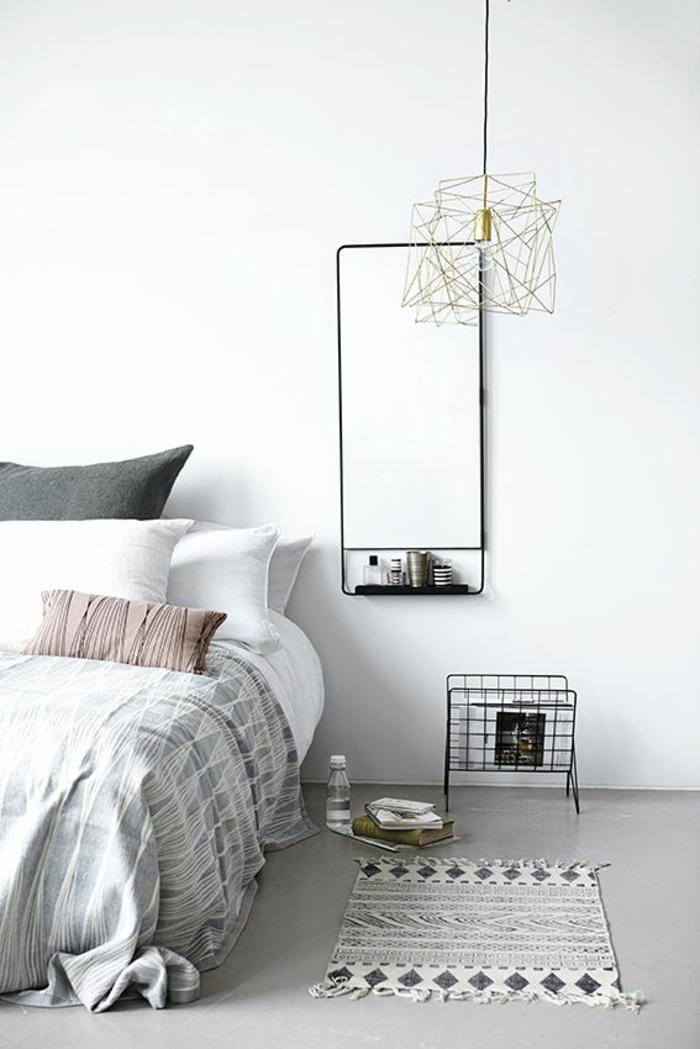 neue wohntrends 2016 schlafzimmer mit skandinavischem design