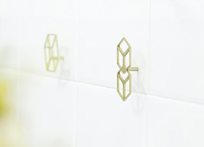 octavio asensio garderobenhaken design geometrische formen