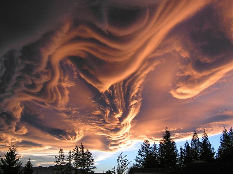optische täuschungen bilder schöne naturbilder wolkenformation aspertus