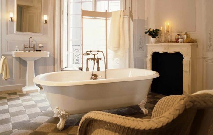 raumgestaltung badezimmer einrichten badewanne badfliesen