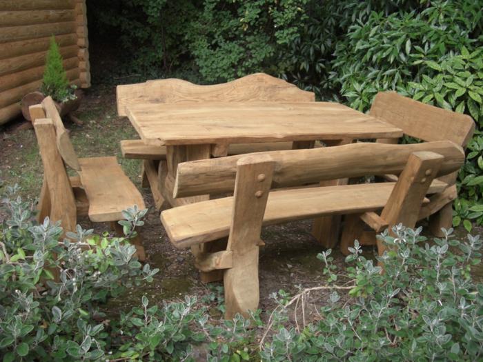 Holzmöbel garten rustikal  Rustikale Gartenmöbel Garten_18:09:09 ~ EgeNis.com : Inspirierend ...