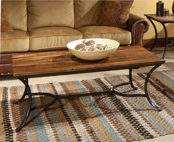Rustikale Tische rustikale tische sind eine originelle lösung für das moderne innendesign