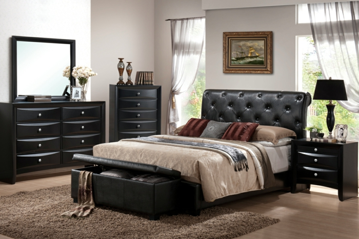 schlafzimmer bank bietet dem schlafzimmer mehr. Black Bedroom Furniture Sets. Home Design Ideas