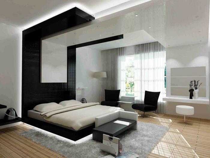 schlafzimmer bank modern rückenlehne armlehne