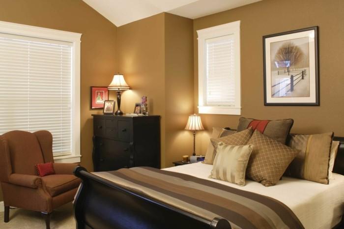 schlafzimmer einrichten das kleine schlafzimmer stilvoll gestaltenin braun
