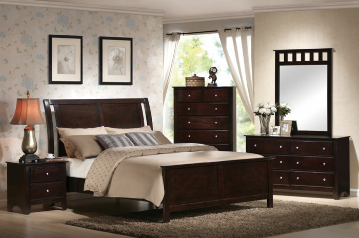 111 wohnideen schlafzimmer f r ein schickes innendesign. Black Bedroom Furniture Sets. Home Design Ideas