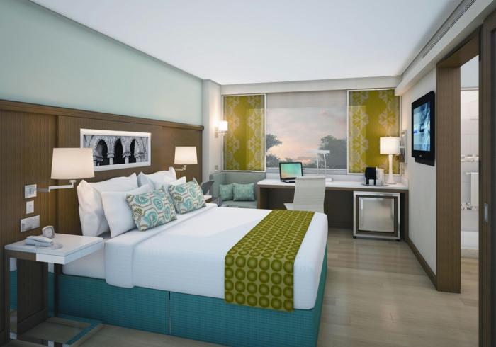 schlafzimmer einrichten ideen gästezimmer gestalten arbeitsbüro