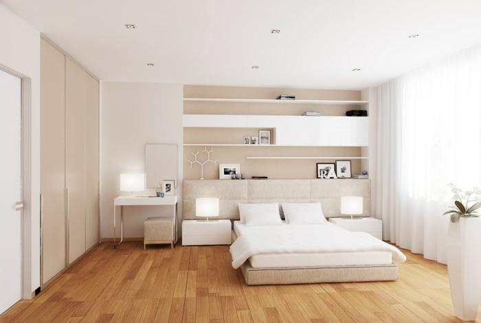 schlafzimmer gestalten mit creme ? marikana.info - Schlafzimmer Creme Weis