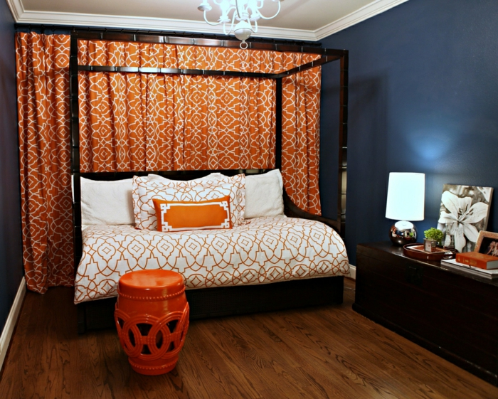 light orange bedroom walls 22 schlafzimmer einrichten ideen f 252 rs g 228 stezimmer 15853