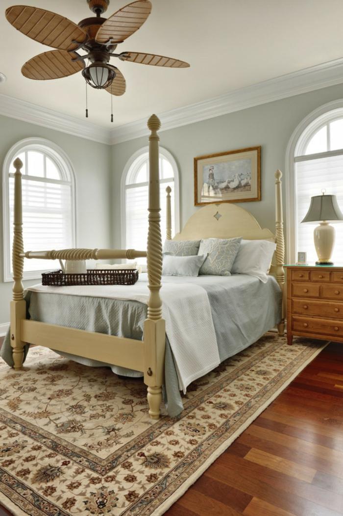 schlafzimmer einrichtungsideen kleiner raum gemütlich neutrale schattierungen