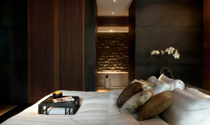schlafzimmer ideen elegantes schlafzimmer im hotelstil