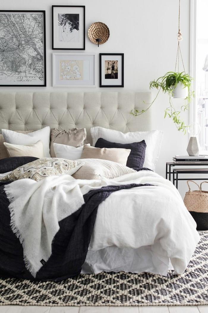 schlafzimmer ideen schöne muster im schlafbereich kombinieren