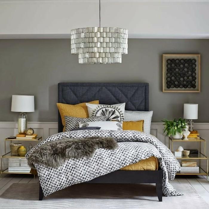 schlafzimmer ideen stilvolle farben kombinieren und farbige akzente setzen