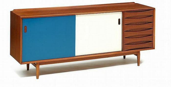 vintage wohnzimmer möbel:sideboard mit schiebetüren wohnzimmer möbel anrichte retro akzente