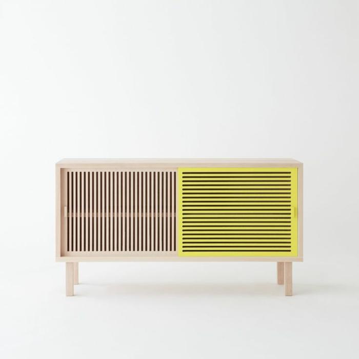 moderne wohnwand sideboard verschiedene. Black Bedroom Furniture Sets. Home Design Ideas