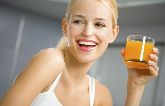 stress reduzieren orangensaft trinken strategien