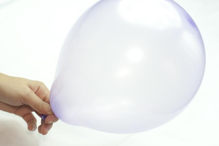 stress reduzieren tipps und tricks ballon aufblasen