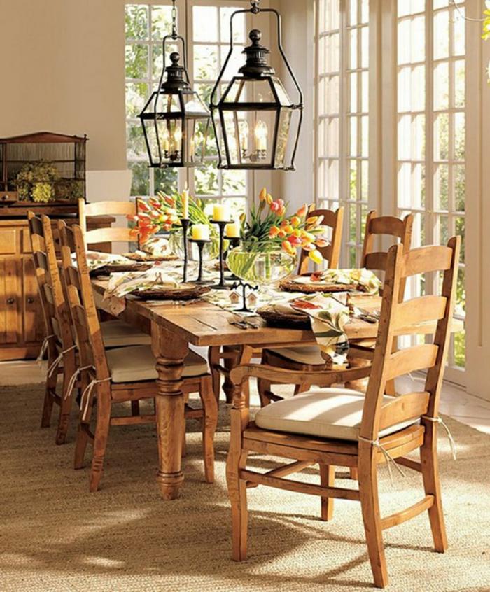 Tischdeko stilvolle ideen f r mehr gem tlichkeit beim essen for Tischdeko rustikal
