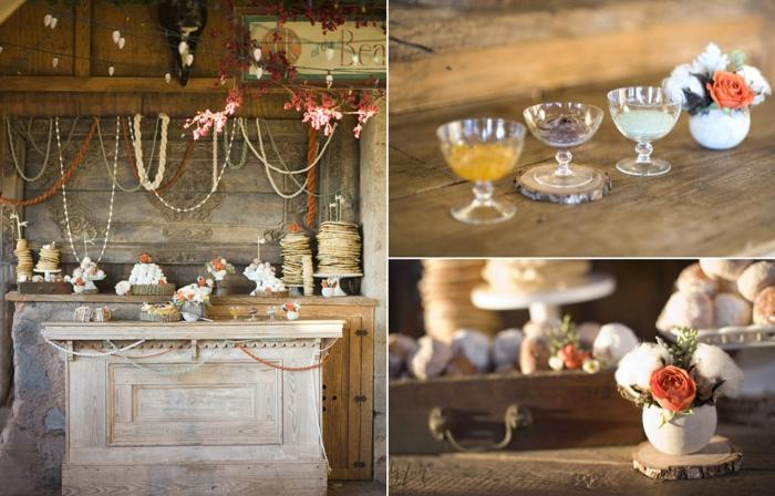 tischdeko selber machen vintage gläser