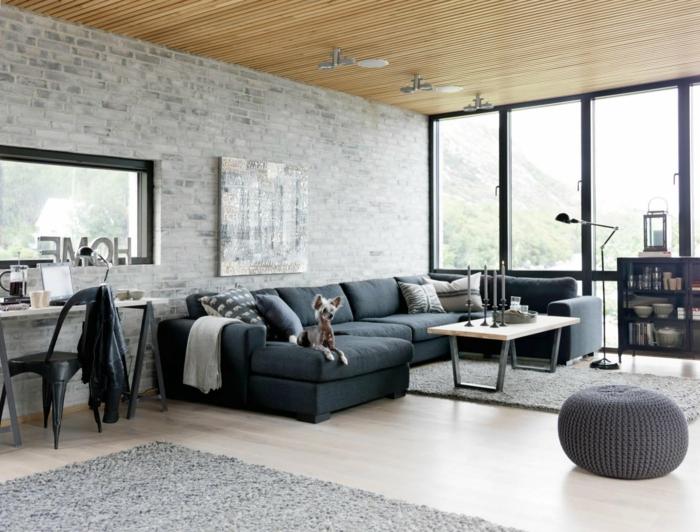 trends möbel wohnzimmer industrieller stil