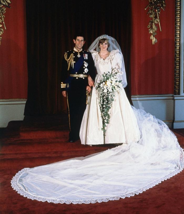 vintage brautkleider 80 jahre style diana royal hochzeit