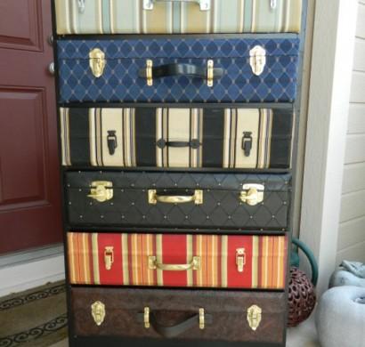 Vintage Koffer Bringen Viel Romantik Und Nostalgie Mit