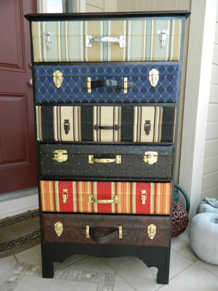 Nostalgische Stehlen vintage koffer bringen viel romantik und nostalgie mit